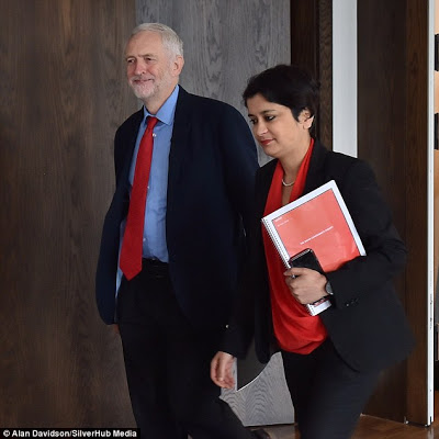 Corbyn and Chakrabarti