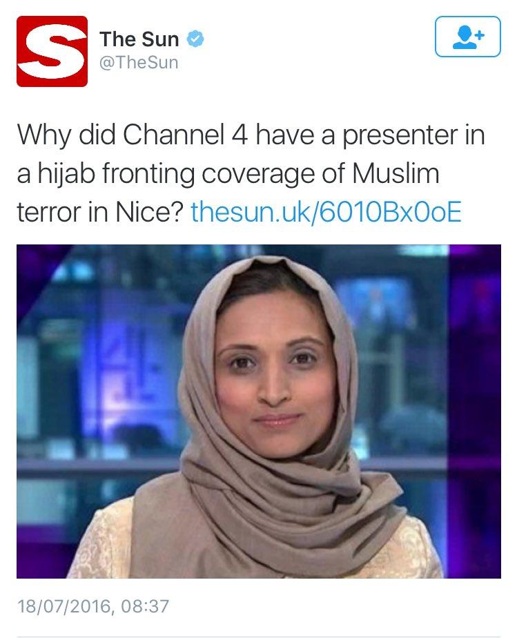 Fatima Manji in hijab