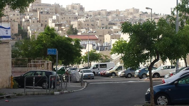 Pisgat Za'ev settlement in East Jerusalem