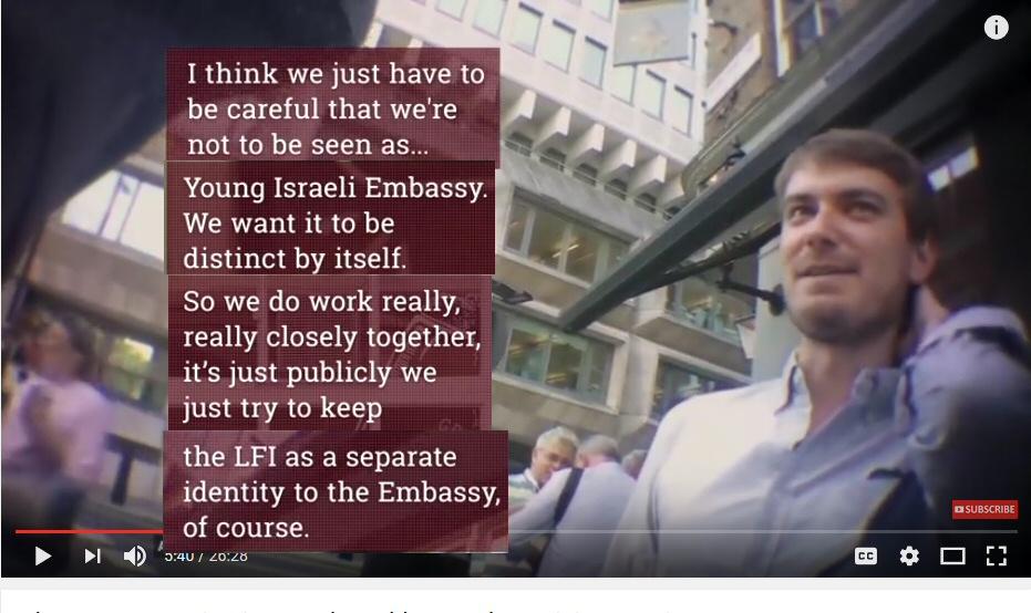 LFI staffer Michael Rubin expalin9ing how the Embassy hides its involvement