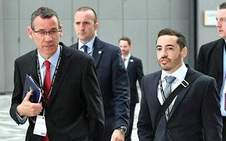 Shai Malot with Ambassador Regev