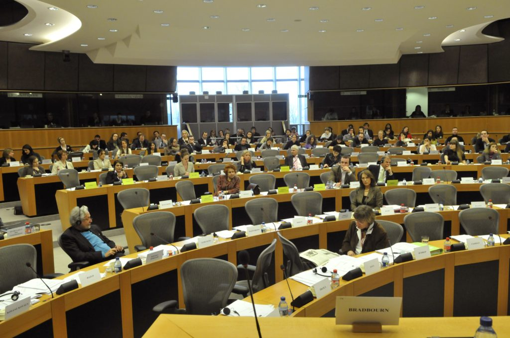 LIBE committee in session