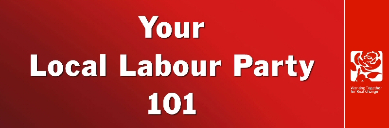 Your Local Labour Party 101