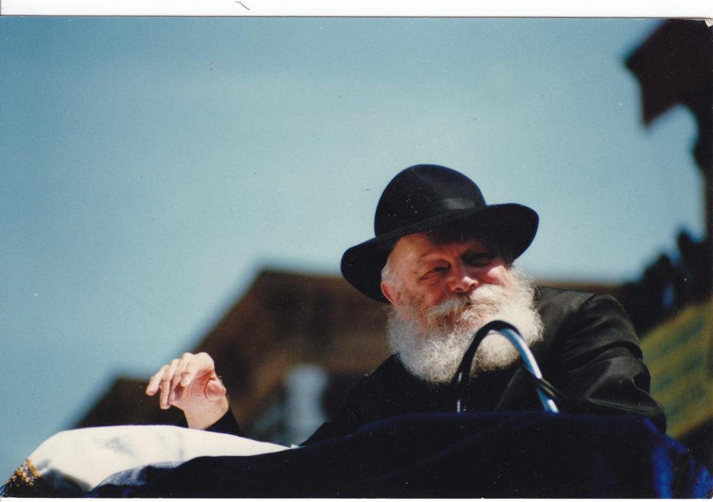 The late Lubavitcher Rebbe, Menachem Mendel Schneerson