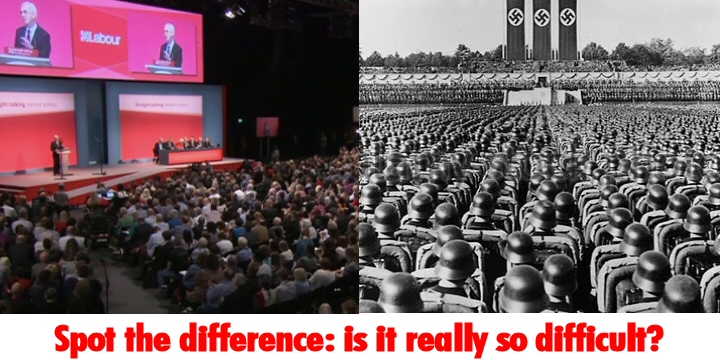 Labour v Nuremberg. Spot the difference: is it really so difficult?