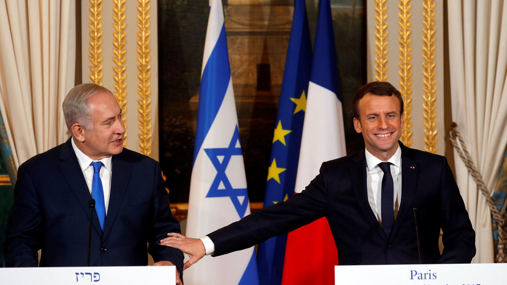 Macron leads the way as western leaders malevolently confuse anti-Zionism with antisemitism